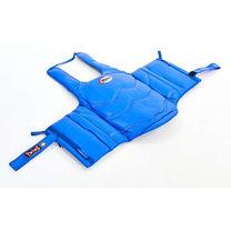 Защита корпуса Twins тренерский жилет для единоборств (BOPL-2-BU, синий)