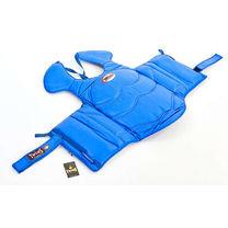 Захист корпусу та ключиці Twins для єдиноборств (BOPL-3-BU, синій)