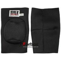 Защита колен TITLE MMA (TKMMA, черные)