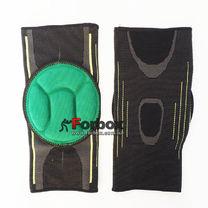 Наколенник для всех видов спорта (2 шт.) MUTE (MT-302-1, черно-зеленый)
