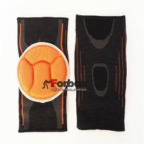 Наколенник для всех видов спорта (2 шт.) MUTE (MT-302-1, черно-оранжевый)