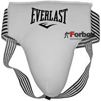 Защита паха мужская PU Everlast (ULI-10029, белая)