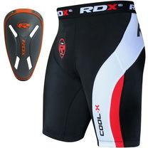 Компрессионные шорты с ракушкой Carbon RDX