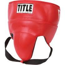 Профессиональная защита паха кожа Gel No foul Title