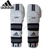 Защита предплечья и локтя Adidas с аккредитацией WTF (JWH2037, белая)