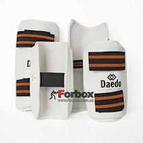 Захист гомілки і передпліччя для тхеквондо Daedo (BO-4857-W, біла)