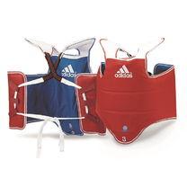 Защита туловища Adidas для тхэквондо двухсторонняя (ADITAP01, красно-синяя)