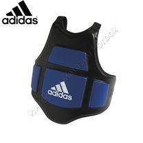 Захист тулуба Adidas для тренера із PU шкіри (ADIP02, чорно-синій)