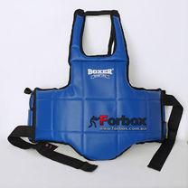 Защитный жилет для единоборств Boxer тренировочный (2037-02, синий)