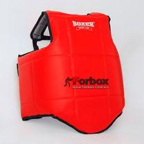 Защитный жилет для единоборств Boxer тренировочный (2037-02, красный)