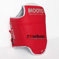 Жилет двухсторонний Mooto для единоборств (BO-5095, красно-синий)