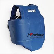Защитный жилет односторонний для единоборств Sportko (334, синий)