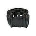Шлем боксерский с бампером Nose Protection кожзам THOR (707-PU-BLK, Черный)