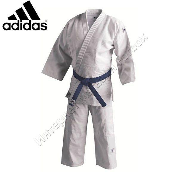 referencia Incorrecto Bronceado  Кимоно для айкидо Adidas 350 гм2 (A350, белое) купить в магазине Forbox